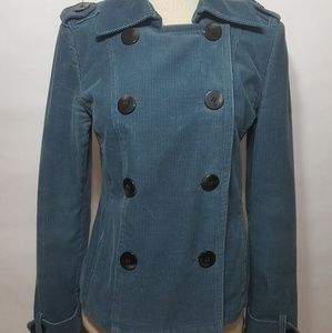 JUICY COUTURE CORDUROY JACKET SIZE Petite 25 Small